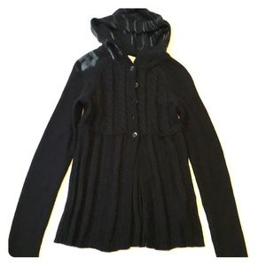SO Cardigan with hood - Medium